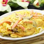 蟹肉と玉子の炒め