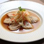 蒸し鶏肉冷菜