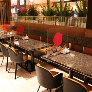 レストラン席